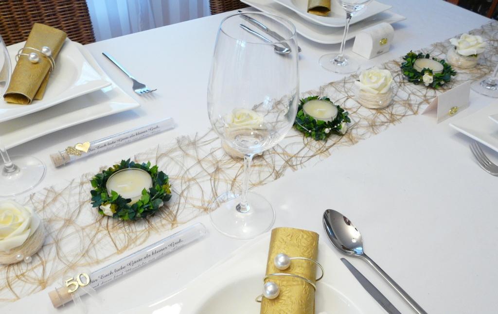 Deko Ideen Zur Goldenen Hochzeit Terrasse En Bois