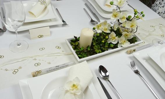 Tischdekoration hochzeitsdekoration gastgeschenke - Tischdeko orchideen hochzeit ...
