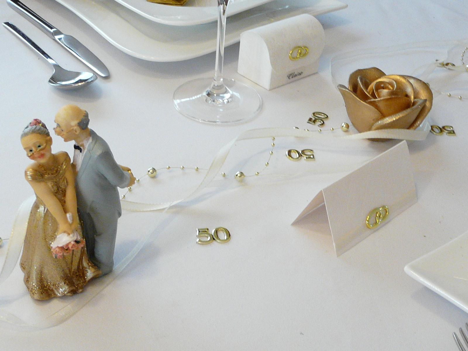 Mustertische Zur Goldenen Hochzeit Bei Tischdeko Online