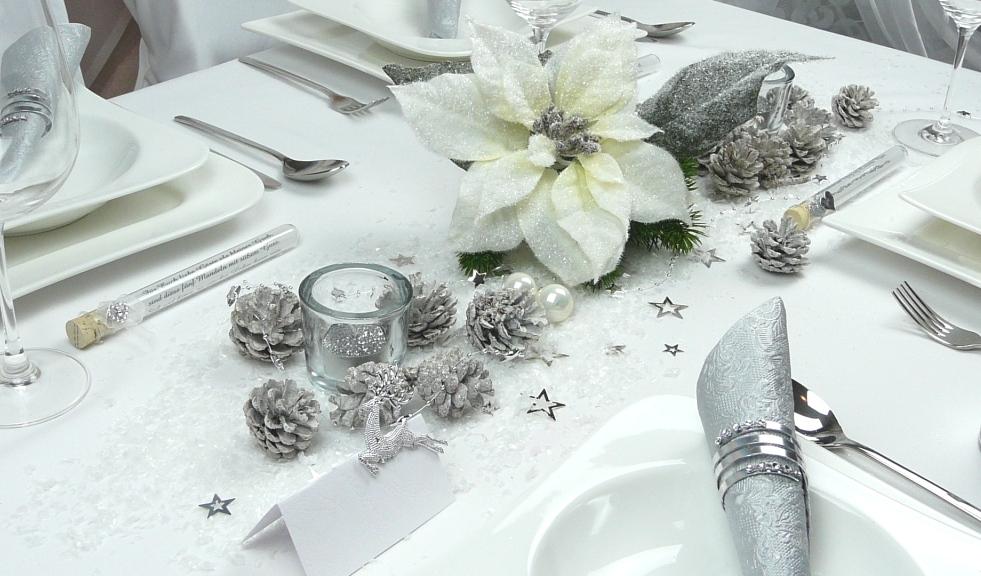Mustertisch Weihnachten Und Winter Tischdeko Online