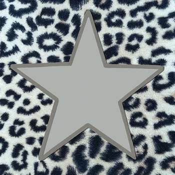 Wildlife Star Silver - animal print