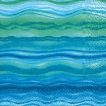 "Servietten ""Blue waves"""