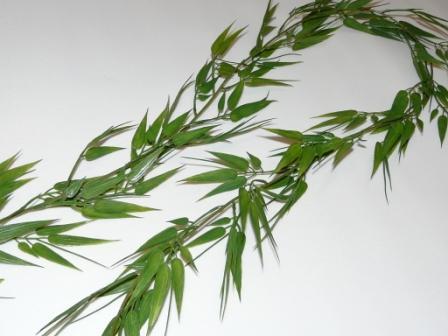 Girlande Bambus Asiatische Tischdeko