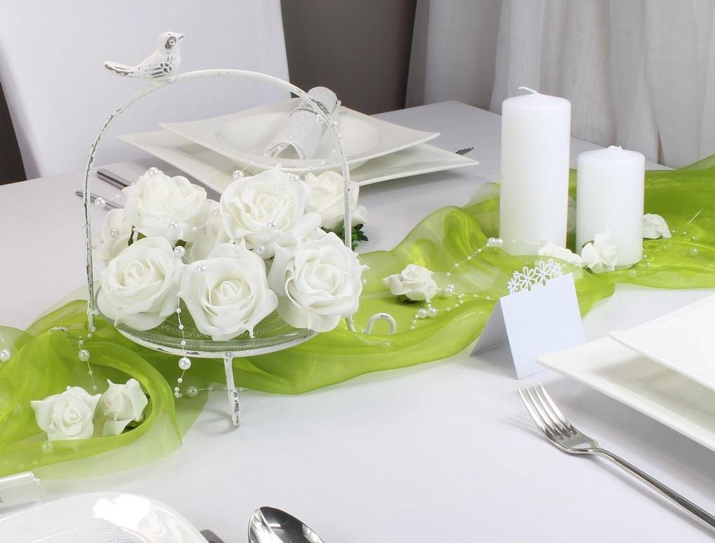 Tischkarte Blumenwiese Für Den Sommer