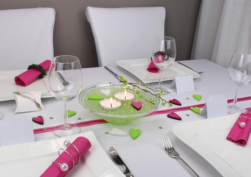 tischband schleifenband anemone in der farbe malve. Black Bedroom Furniture Sets. Home Design Ideas