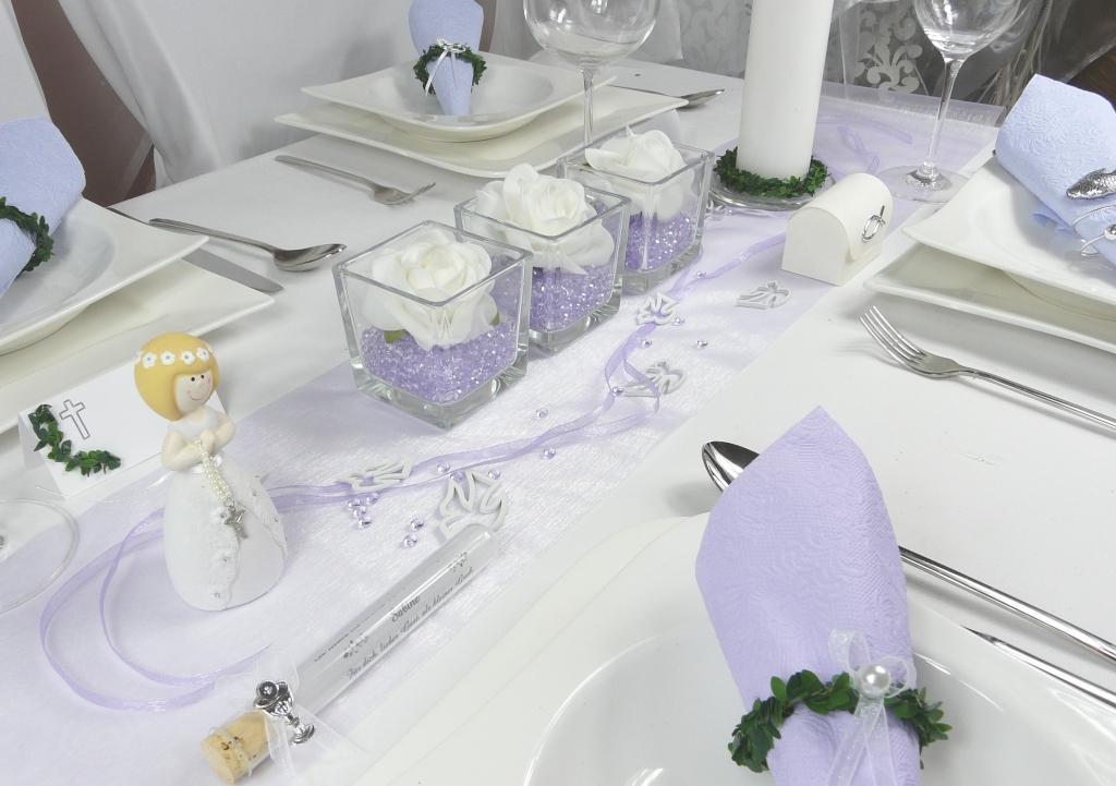 0,20€//m 5m Organzaband 7mm lavendel Kommunion Hochzeit  Taufe