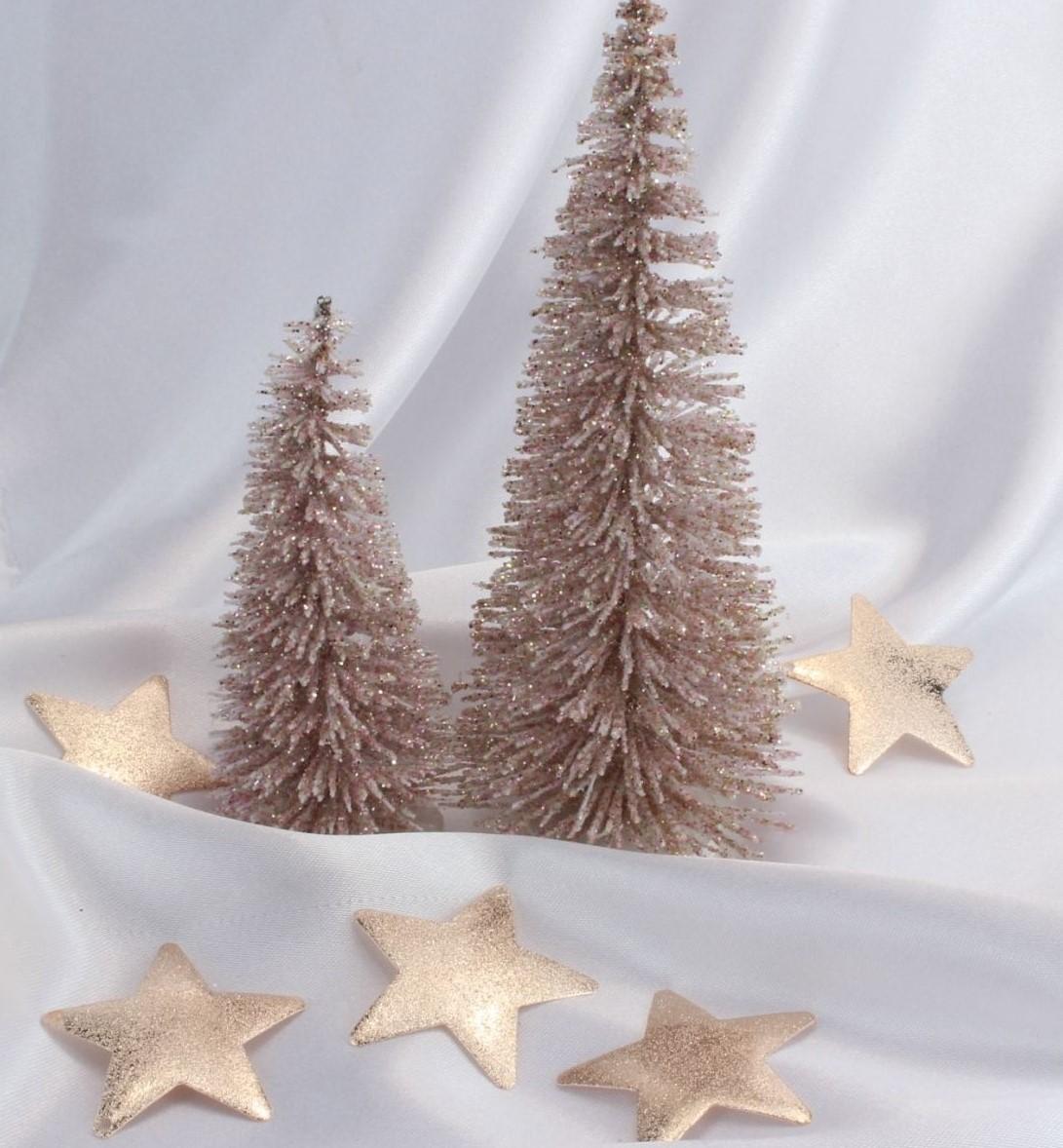 Edle Weihnachtsdeko 2019.Weihnachtsdeko 10 Edle Sterne Aus Metall Metallsterne In Rose