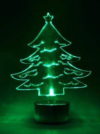 Tannenbaum Acryl.Leuchtender Tannenbaum Aus Acryl