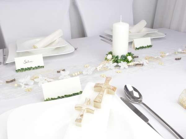 kleines birkenkreuz als deko f r ihre christliche feier. Black Bedroom Furniture Sets. Home Design Ideas