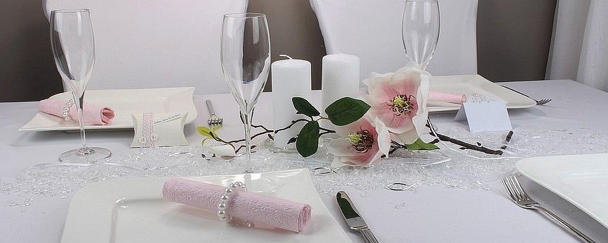 Tischdekoration Pink Rosa Wedding Table Pinterest Pink Of Tischdeko ...