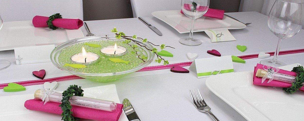 Tischdeko tischdeko mit blumentopf with tischdeko tipps for Tischdeko blumentopf