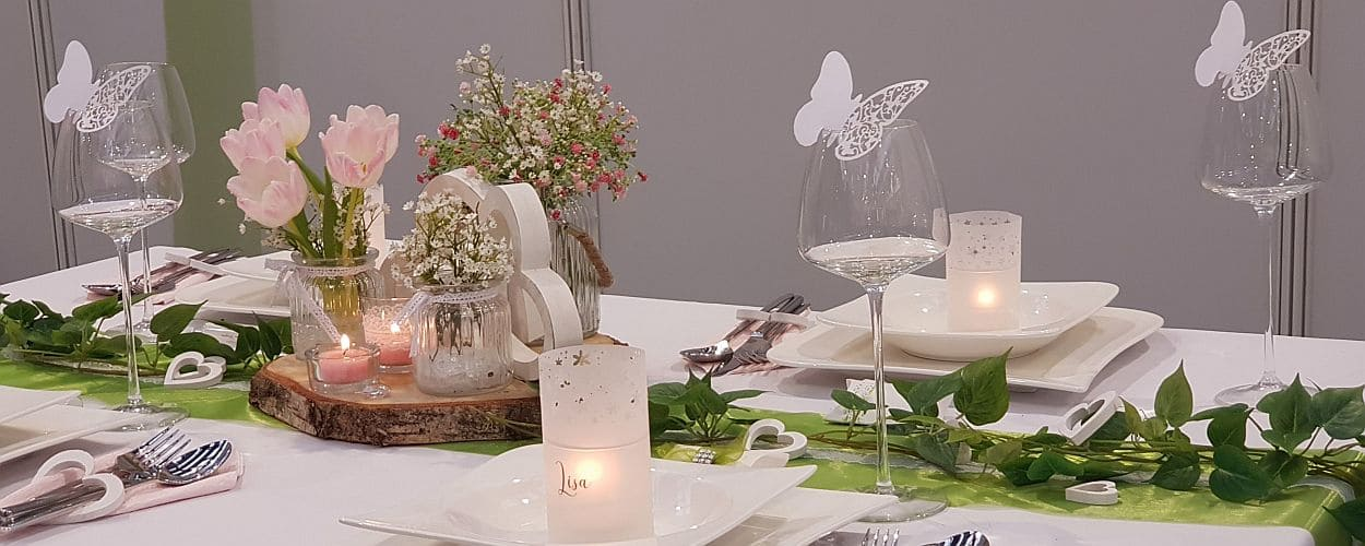 Tischdeko Online Auf Hochzeitsmessen